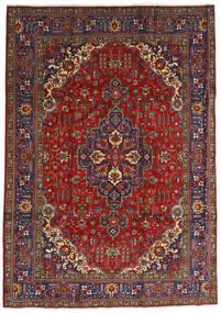 タブリーズ 絨毯 240X333 オリエンタル 手織り 深紅色の/濃いグレー (ウール, ペルシャ/イラン)