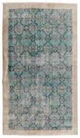 ヴィンテージ Heritage 絨毯 112X197 モダン 手織り 薄い灰色/ターコイズブルー (ウール, ペルシャ/イラン)