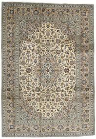 カシャン 絨毯 248X354 オリエンタル 手織り 濃い茶色/黒 (ウール, ペルシャ/イラン)