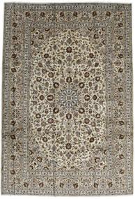 カシャン 絨毯 246X357 オリエンタル 手織り 濃い茶色/黒 (ウール, ペルシャ/イラン)
