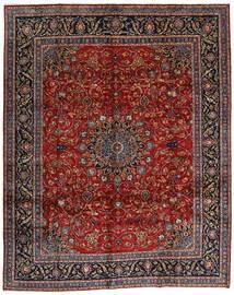 マシュハド 絨毯 304X378 オリエンタル 手織り 深紅色の/濃いグレー 大きな (ウール, ペルシャ/イラン)
