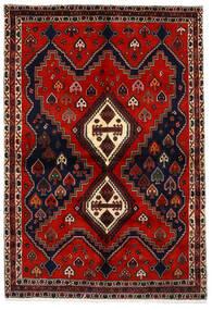 アフシャル 絨毯 159X233 オリエンタル 手織り 深紅色の/錆色 (ウール, ペルシャ/イラン)