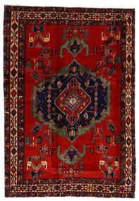 アフシャル 絨毯 169X243 オリエンタル 手織り 深紅色の/錆色 (ウール, ペルシャ/イラン)