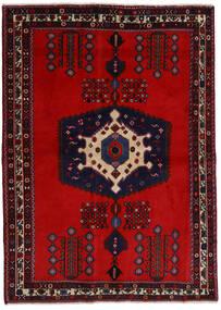 アフシャル 絨毯 171X237 オリエンタル 手織り 深紅色の/錆色 (ウール, ペルシャ/イラン)