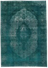 ヴィンテージ Heritage 絨毯 235X336 モダン 手織り ターコイズ/ターコイズブルー (ウール, ペルシャ/イラン)
