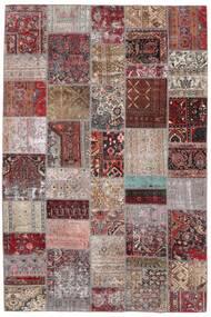 パッチワーク - Persien/Iran 絨毯 200X300 モダン 手織り 薄い灰色/濃い茶色 (ウール, ペルシャ/イラン)