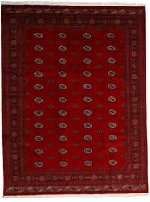 パキスタン ブハラ 3Ply 絨毯 247X319 オリエンタル 手織り 深紅色の/赤/濃い茶色 (ウール, パキスタン)