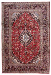 カシャン 絨毯 240X343 オリエンタル 手織り 深紅色の/薄紫色 (ウール, ペルシャ/イラン)