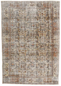 ヴィンテージ Heritage 絨毯 210X302 モダン 手織り 薄い灰色/茶 (ウール, ペルシャ/イラン)