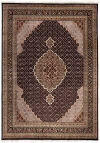 タブリーズ Royal 絨毯 247X347 オリエンタル 手織り 茶/濃い茶色/深紅色の ( インド)