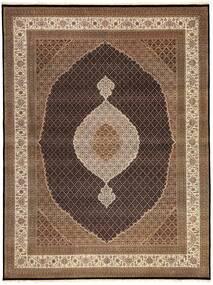タブリーズ Royal 絨毯 300X395 オリエンタル 手織り 茶/濃い茶色 大きな ( インド)