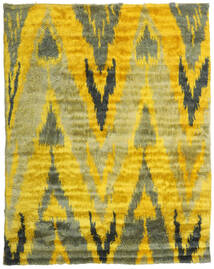 Handknotted Berber 35Mm 絨毯 240X300 モダン 手織り 黄色/オリーブ色 (ウール, インド)