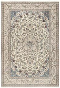 ナイン 6La 絨毯 260X380 オリエンタル 手織り 薄い灰色/ベージュ 大きな (ウール/絹, ペルシャ/イラン)