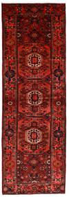 ハマダン 絨毯 104X315 オリエンタル 手織り 廊下 カーペット 深紅色の/錆色 (ウール, ペルシャ/イラン)