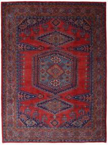 ウィス 絨毯 253X344 オリエンタル 手織り 深紅色の/濃い紫 大きな (ウール, ペルシャ/イラン)