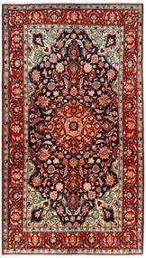 マハル 絨毯 134X240 オリエンタル 手織り 深紅色の/錆色 (ウール, ペルシャ/イラン)