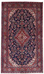 マハル 絨毯 136X236 オリエンタル 手織り 濃い紫/深紅色の (ウール, ペルシャ/イラン)