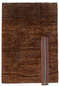 Moroccan Berber - Afghanistan 絨毯 194X281 モダン 手織り 濃い茶色/茶 (ウール, アフガニスタン)