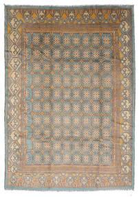 Moroccan Berber - Afghanistan 絨毯 210X292 モダン 手織り 薄い灰色/薄茶色 (ウール, アフガニスタン)