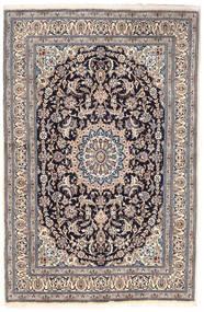 ナイン 絨毯 163X249 オリエンタル 手織り 薄い灰色/濃いグレー (ウール, ペルシャ/イラン)