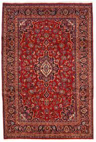 カシャン 絨毯 200X300 オリエンタル 手織り 深紅色の/錆色 (ウール, ペルシャ/イラン)