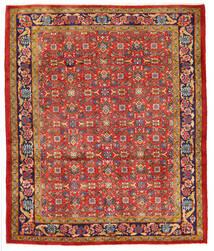 ハマダン 絨毯 165X200 オリエンタル 手織り 錆色 (ウール, ペルシャ/イラン)