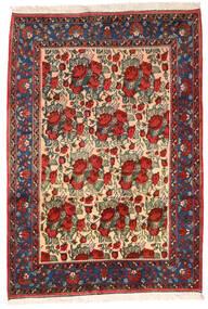 アフシャル 絨毯 164X235 オリエンタル 手織り 深紅色の/黒 (ウール, ペルシャ/イラン)