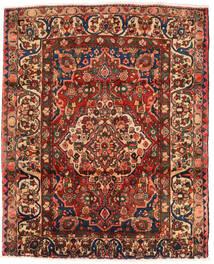 バクティアリ 絨毯 174X214 オリエンタル 手織り 濃い茶色/深紅色の (ウール, ペルシャ/イラン)