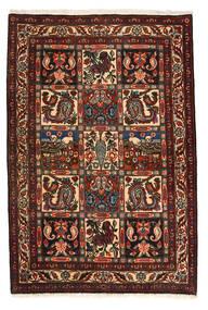 バクティアリ Collectible 絨毯 105X158 オリエンタル 手織り 濃い茶色/深紅色の (ウール, ペルシャ/イラン)