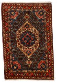 バクティアリ Collectible 絨毯 107X160 オリエンタル 手織り 濃い茶色/深紅色の (ウール, ペルシャ/イラン)
