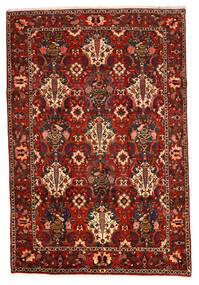 バクティアリ Collectible 絨毯 207X307 オリエンタル 手織り 濃い茶色/錆色/深紅色の (ウール, ペルシャ/イラン)