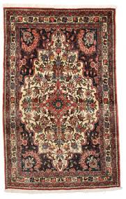 バクティアリ Collectible 絨毯 105X165 オリエンタル 手織り 濃い茶色/ベージュ (ウール, ペルシャ/イラン)
