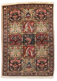 バクティアリ Collectible 絨毯 109X152 オリエンタル 手織り 濃い茶色/ベージュ (ウール, ペルシャ/イラン)