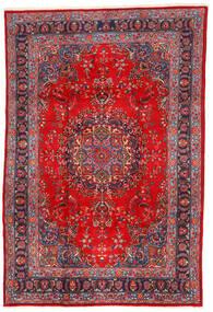 マシュハド 絨毯 198X295 オリエンタル 手織り 深紅色の/錆色 (ウール, ペルシャ/イラン)
