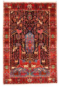 ナハバンド オールド 絨毯 165X247 オリエンタル 手織り 深紅色の/ベージュ (ウール, ペルシャ/イラン)