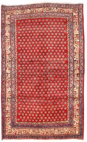 アラク 絨毯 125X205 オリエンタル 手織り 深紅色の/赤 (ウール, ペルシャ/イラン)