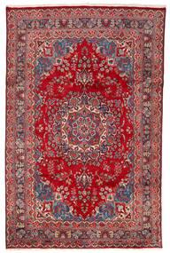 マシュハド 絨毯 198X304 オリエンタル 手織り 赤/深紅色の (ウール, ペルシャ/イラン)