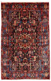 ナハバンド オールド 絨毯 151X240 オリエンタル 手織り 深紅色の (ウール, ペルシャ/イラン)