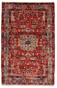 ナハバンド オールド 絨毯 153X243 オリエンタル 手織り 濃い茶色/黒 (ウール, ペルシャ/イラン)