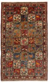 バクティアリ Collectible 絨毯 155X247 オリエンタル 手織り 黒/濃い茶色 (ウール, ペルシャ/イラン)
