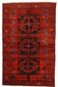 ザンジャン 絨毯 145X228 オリエンタル 手織り 深紅色の/錆色/濃い茶色 (ウール, ペルシャ/イラン)