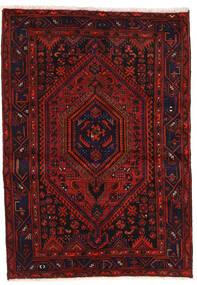 ザンジャン 絨毯 139X200 オリエンタル 手織り 深紅色の/錆色 (ウール, ペルシャ/イラン)