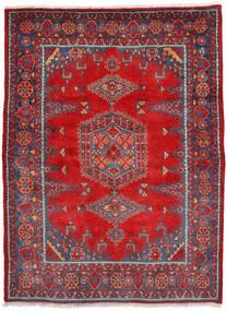 ウィス 絨毯 160X222 オリエンタル 手織り 錆色/深紅色の (ウール, ペルシャ/イラン)