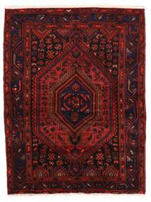 ザンジャン 絨毯 142X190 オリエンタル 手織り 深紅色の (ウール, ペルシャ/イラン)