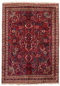 ビジャー 絨毯 155X209 オリエンタル 手織り 深紅色の/濃い茶色 (ウール, ペルシャ/イラン)