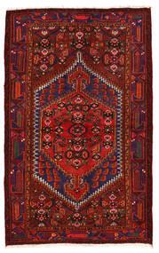 ザンジャン 絨毯 136X218 オリエンタル 手織り 深紅色の/濃い紫 (ウール, ペルシャ/イラン)