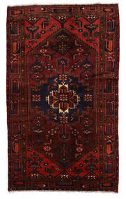 ザンジャン 絨毯 132X220 オリエンタル 手織り 深紅色の (ウール, ペルシャ/イラン)