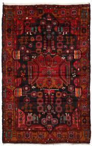 ナハバンド 絨毯 165X260 オリエンタル 手織り 濃い茶色/深紅色の/錆色 (ウール, ペルシャ/イラン)