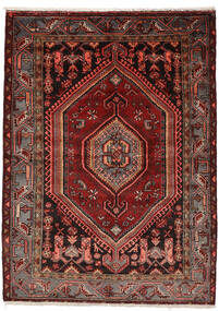 ザンジャン 絨毯 146X200 オリエンタル 手織り 深紅色の (ウール, ペルシャ/イラン)