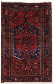 ザンジャン 絨毯 134X213 オリエンタル 手織り 深紅色の (ウール, ペルシャ/イラン)